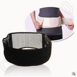 Ajustable Tourmaline auto-calefacción magnética cintura de la terapia de apoyo lumbar cintura trasera Soporte doble banda cinturón CCA5582 150pcs