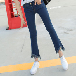 Discount Stretch Bell Bottom Jeans | 2017 Stretch Women Jeans Bell ...