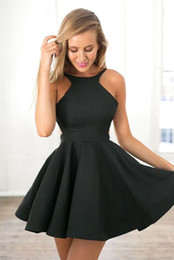 Discount Simple Navy Homecoming Dresses - 2017 Simple Navy ...