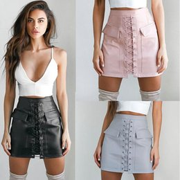 Discount Pink Leather Mini Skirt | 2017 Pink Leather Mini Skirt on ...