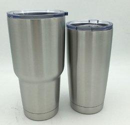 30/20 onças Copo 304 copo de aço inoxidável para viagem Veículo Mug Tumblerful 20OZ e 30OZ DHL Free