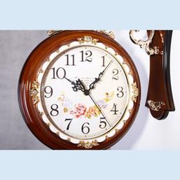 Clocks Wall Clocks Large Wall Clock Saat Double Sided Clock Reloj Vintage Home Decor Duvar Saati Horloge Murale Klok Watch Metal Orologio