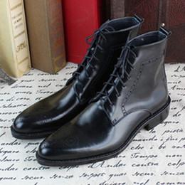 Discount Mens Vintage Ankle Boots   2017 Mens Vintage Ankle Boots