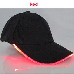 2017 New Travel Sports Men Light LED Light Glow Caps Hot New Moda Adulto Cool Club Party Luminous Noctilucent Flash Hat
