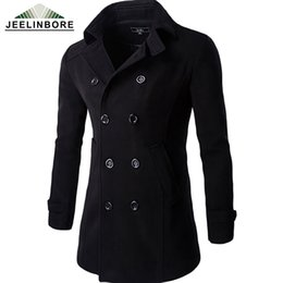 Casual Men Warm Pea Coats Online | Casual Men Warm Pea Coats for Sale