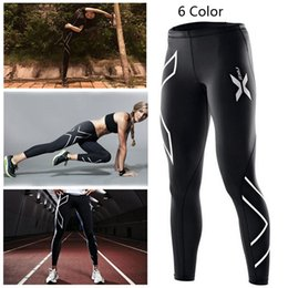 online shopping 2017 hot sale Women s Running Compression Tights Pants Women Elastic Clothes Tight fitting Sports Trousers Marathon Fitness Jogging Pants