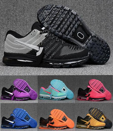 Discount shoes run air max Hot Sale Max 2017 Running Shoes Men Women Cushion Outdoor Best Top quality Air Running Sports Sneakers Size 36-47
