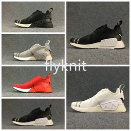 Adidas NMD R1 Lush Red Camo On Feet