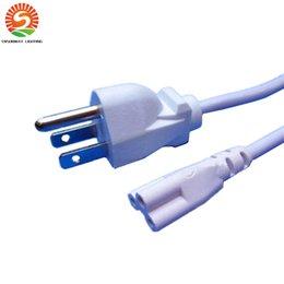 Câble de puissance de 5 pi avec la prise des USA pour T8 T5 intégré conduit les lumières de tubes CE ROHS CSA