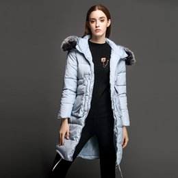 Discount Ladies Long Feather Down Coat | 2017 Ladies Long Feather ...