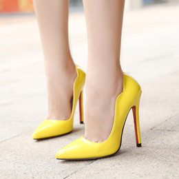 Discount Sexy Yellow High Heels For Sale  2017 Sexy Yellow High