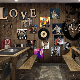 custom wall mural english letters flocking non woven home decor bedroom living room ktv cafe coffee bar restaurant 3d wall paper