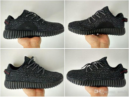 Wholesale Adidas Shoes Yeezy Boost Shoes Pirate Black Womens Mens Running Shoes Men Sports Kanye West Yzy Yeezys Boosts Trainers Run Fashion