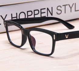 c3bcc3f87b 2016 V-Shaped Logo eye glasses frames for women korean glasses frames Men  Spectacle Optical Frame brand eyeglasses prescription eyewear