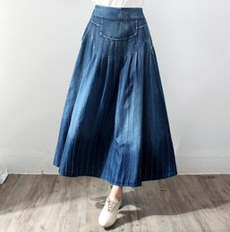Ankle Length Denim Skirts Online | Ankle Length Denim Skirts for Sale
