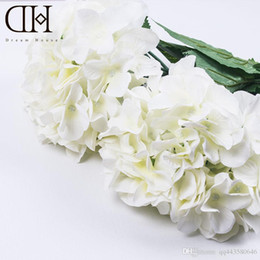 Online Shopping Dh Length Cm Luxury Artificial Hydrangea Flower Home Decoration Accessory Fake Flower For Wedding