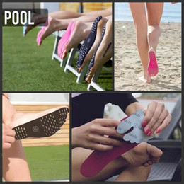 2017 Summer Nakefit soles Invisible Beach Shoes Nakefit foot pads nikefit prezzo nakefit sapatos beach foot feet pads DHL Fast Shipping