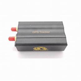 En tiempo real GSM / GPRS que sigue el perseguidor 103A Tk103A TK103 GPS103A del GPS del coche del vehículo Seguimiento en tiempo real LBS perseguidor SOS Sensor de la vibración + altavoz
