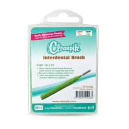 Cepillo Cleanpik Interdental, cepillos de cepillo, 0.7mm, 40 cada uno