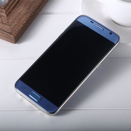 online shopping Newest Goophone S8 Edge Inch Quad Core MTK6580 Real GB Dual Sim G IPS Curve Screen Show GB Fake G Cellphones Unlocked