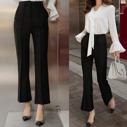 Discount High Waist Formal Pants Women | 2017 High Waist Formal Pants Women On Sale At DHgate.com