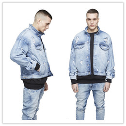 Light Denim Jacket Mens Online | Mens Light Blue Denim Jacket for Sale