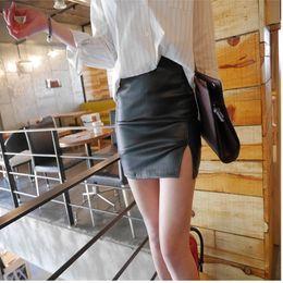 Discount Leather Mini Skirt Plus Size | 2017 Plus Size Short ...