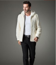 White Mink Coat Men Online | White Mink Coat Men for Sale