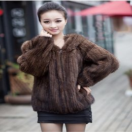 Woven Mink Coat Online | Woven Mink Coat for Sale