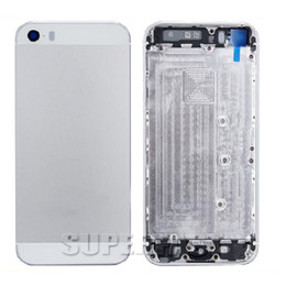 online shopping For iPhone S G G GP Metal Battery Gold Back Housing Cover door Mid Frame Assembly With Full Small Part Replacement Middle Bezel