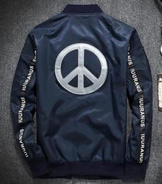 Wholesale Chaqueta reflexiva de los hombres M de la chaqueta experimental Chaqueta táctica militar de la muestra de paz del estilo de la nueva llegada que envía libremente