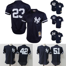 12d36aa9a ... mattingly jersey  navy blue 1995 authentic throwback batting practice  shipping details new york yankees 23 don mattingly throwback