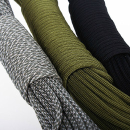 2017 cord tools Wholesale-200 colors 10m (33FT) 550 Paracord Parachute Cord Lanyard Rope Mil Spec Type III 7 Strand Paracord cheap cord tools