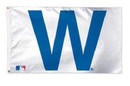 Chicago Cubs équipe drapeau 3 'X 5' baseball hokey fan drapeau 150 X 90 cm bannière en laiton métal trous drapeau