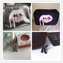 Корабль падения! Дженнер Праздник косметичка + Kylie Kylie обычная косметика Коллекция макияжа сумка Ограниченная серия