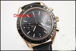 discount nice men watches 2017 nice watches for men on at luxury new mens watch stopwatch original clasp quartz dark side of moon rose golden chronograph nice stainless steel shipping watch men cheap nice men