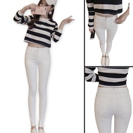 Ladies White Stretch Jeans Online   Ladies White Stretch Jeans for ...