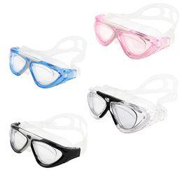 Profesional Buceo Gafas Vogue Agua submarina buceo Equipo Impermeable HD Natación Racing Myopic Goggles Colores lente miope Elegir