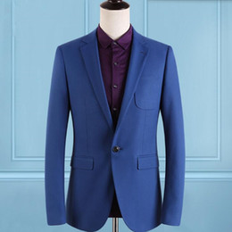 Discount Navy Blue Cotton Suit Men | 2017 Navy Blue Cotton Suit