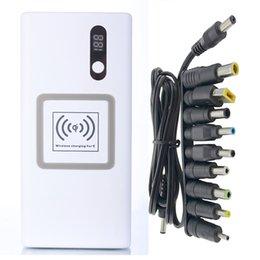 Высокое качество для ноутбука Apple Мобильный 16000mah банка зарядки аккумуляторов Сокровище MacBook MS1 / MS2 Подключите зарядное устройство QI Ultra Thin Type-C