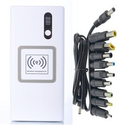Haute Qualité Pour Apple Ordinateur Portable Mobile 16000mah Power Bank Charging Trésor MacBook MS1 / MS2 Plug Chargeur QI Ultra Mince Type-C