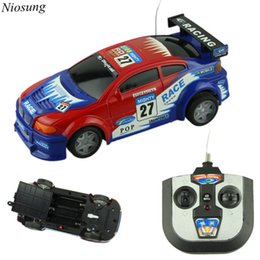 wholesale niosung high speed mini rc toy car 4 wheel drive remote control car speed drift best gift for kids