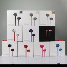 Urbs in-ear écouteurs écouteurs sports écouteurs eadphones coloré avec écouteurs de microphone avec la boîte de détail expédition rapide