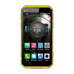 Discount chinese phone screens Universal Kenxinda proofings W9 Smart mobile cell Phone Android 5.1 MTK6753 Octo-core RAM 2G ROM 16G with camera wifi 4G WCDMA waterproof