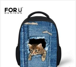 Discount Cat Book Bag | 2017 Girls Book Bag Cat on Sale at DHgate.com