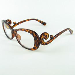 new vintage optical glasses frame party eyeglasses brand designer women eyewear oculus custom optical lense 9198