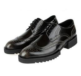 Discount Mens Dress Shoes Platform | 2017 Mens Black Platform ...