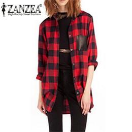 Red Black Plaid Shirt Womens Suppliers | Best Red Black Plaid ...