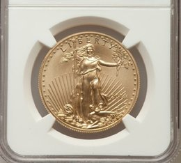 online shopping Verified American Eagle one troy Ounce fine gold coin graded MS70 and sealed in original case