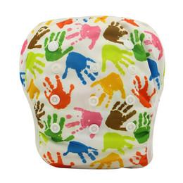 Wholesale 3pcs maillots de bain pour BoysGirls réutilisables Board Short Trunks Baby Swim couches couches de tissu Baby Nappies Pantalon d entraînement unisexe